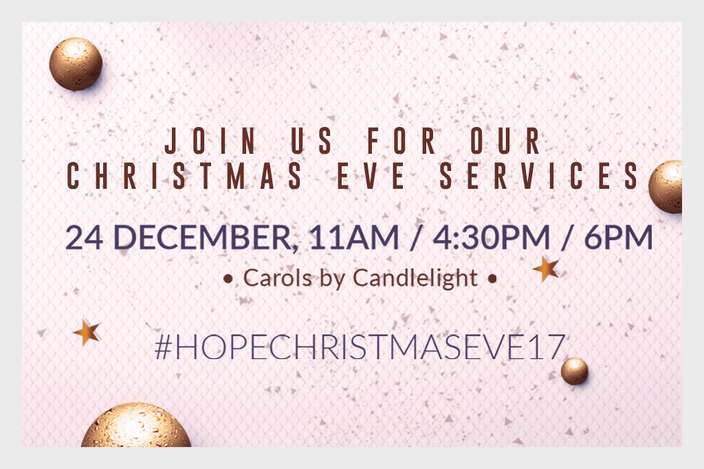 CAROLS BY CANDLELIGHT - CHRISTMAS EVE